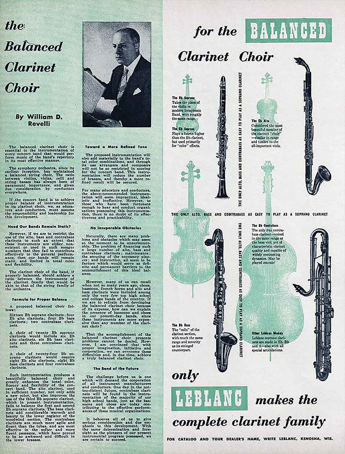 Valentin cases : Leblanc clarinets family.