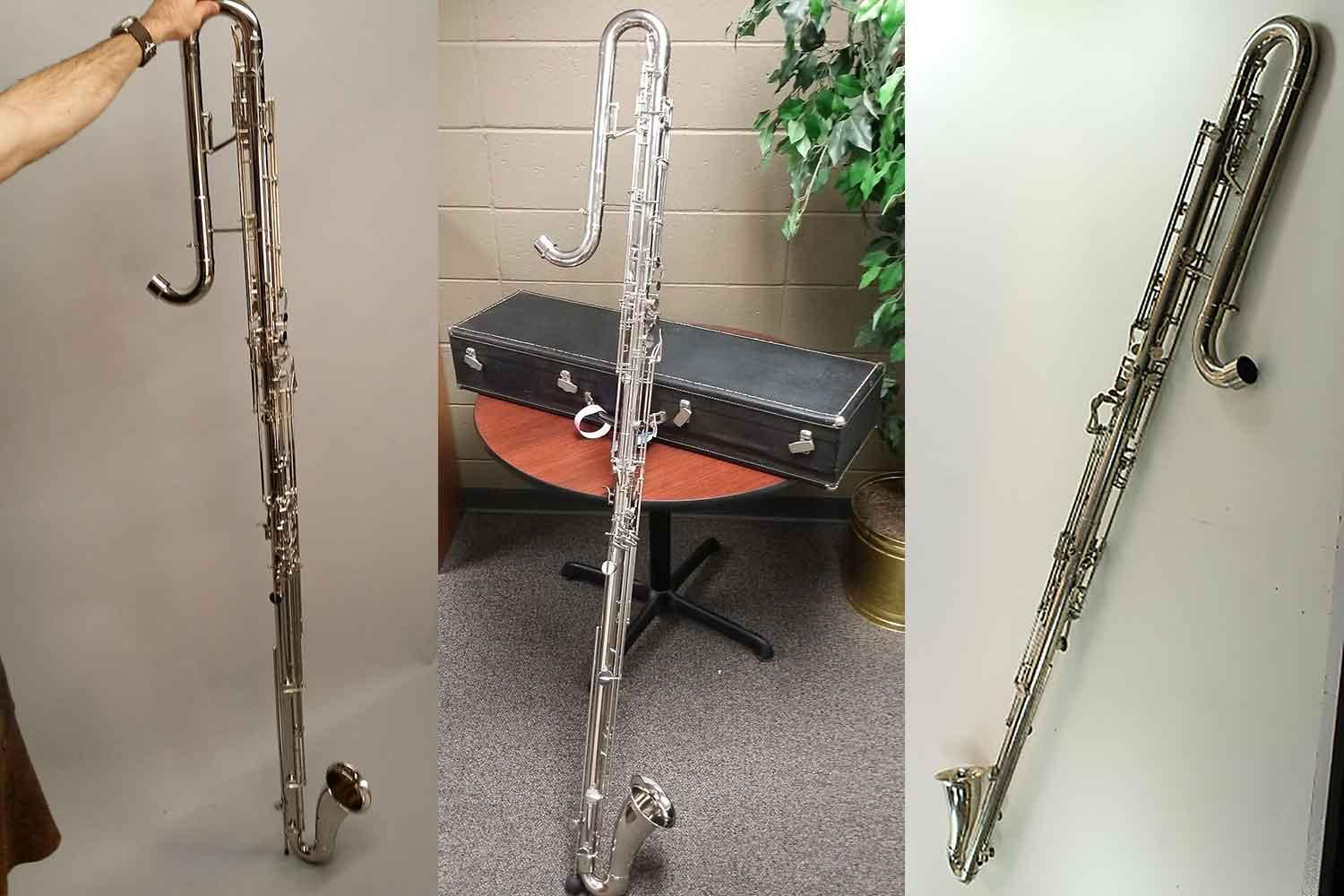 Valentin cases : <H2>Leblanc Contrabass Clarinet Types</H2><H3>- Straight shape 342-</H3>This model goes down to low Eb.